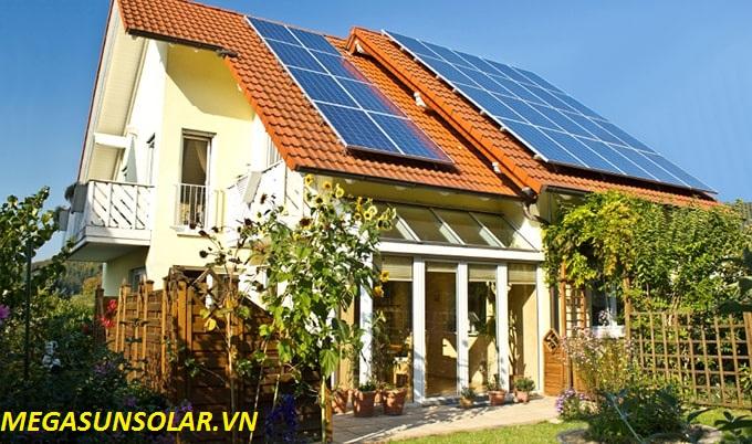 Điện năng lượng mặt trời cho hộ gia đinh 4KWp