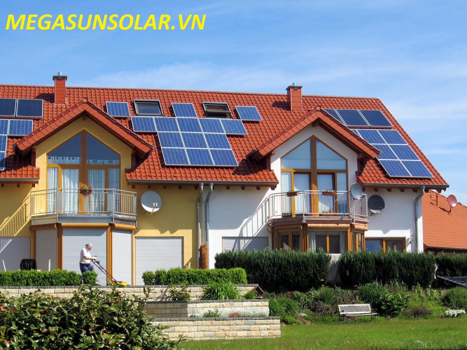 Điện năng lượng mặt trời cho hộ gia đình Megasun 10 Kwp