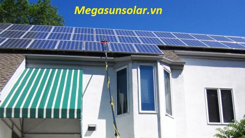 Điện năng lượng mặt trời cho hộ gia đình 1kwp