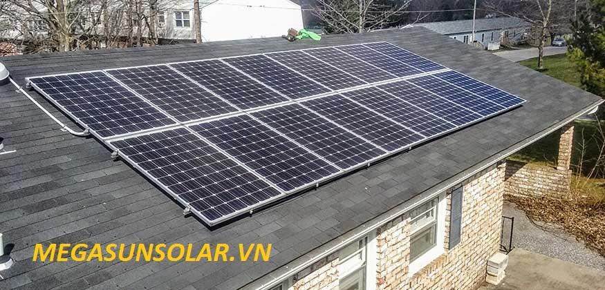 Điện năng lượng mặt trời cho hộ gia đinh MEGASUN 4KWp