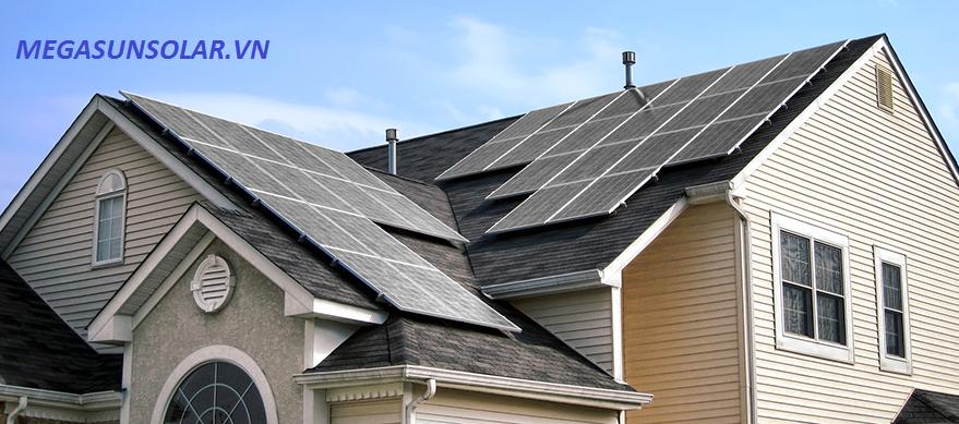 Điện năng lượng mặt trời gia đinh 4KWp MEGASUN