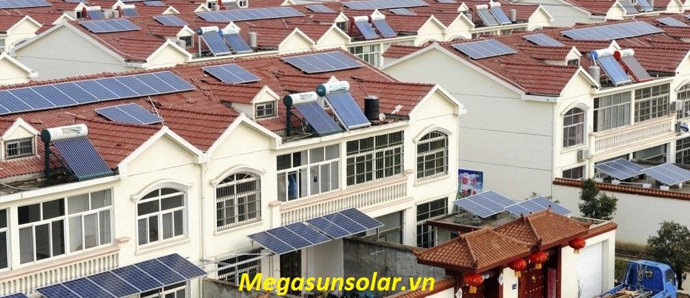 Điện năng lượng mặt trời gia đình Megasun 1kwp