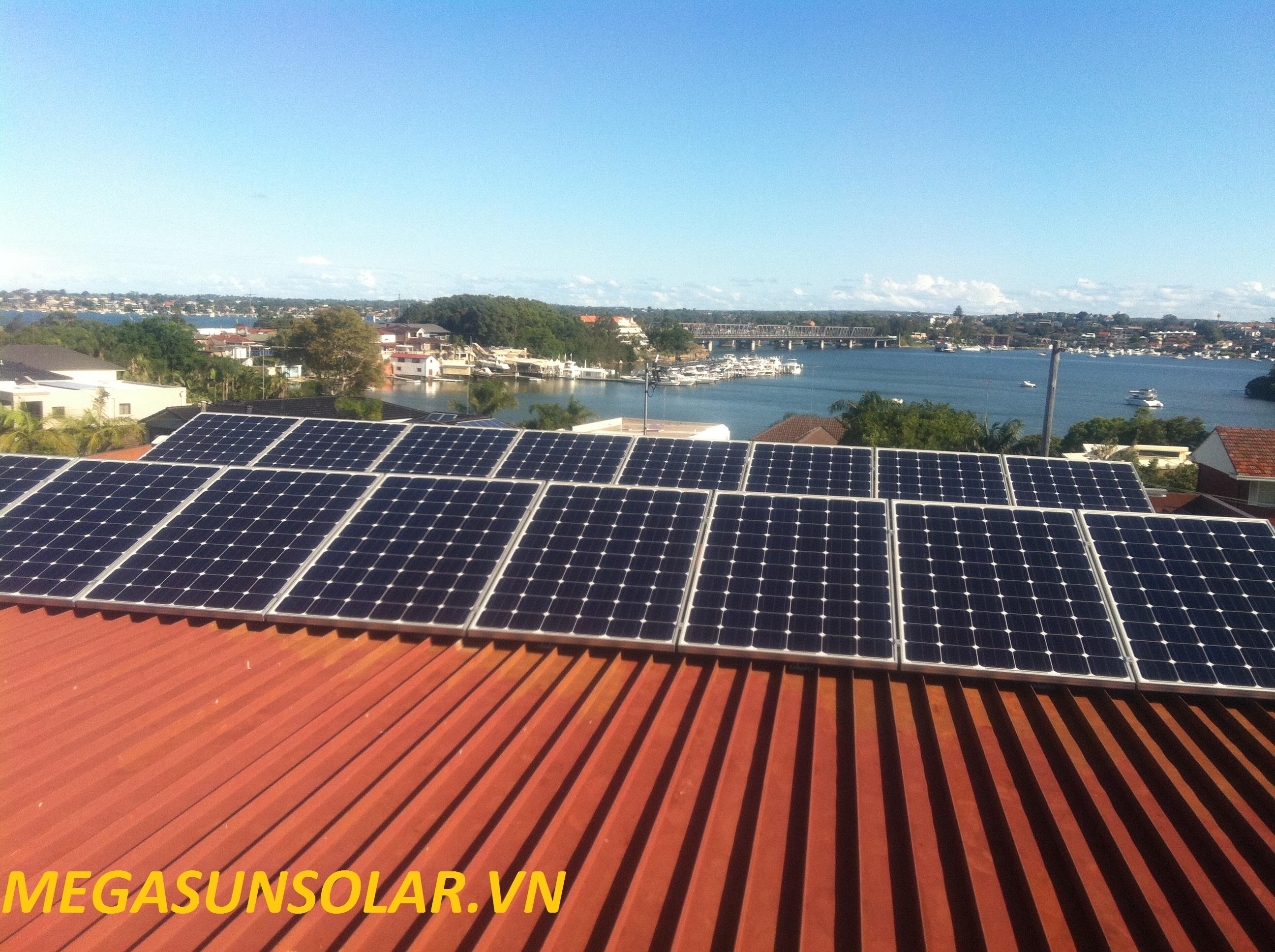 Điện năng lượng mặt trời gia đình MEGASUN 4KWp