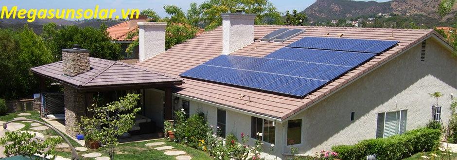 Điện năng lượng mặt trời hòa lưới 3kw megasun