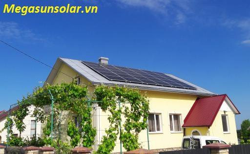 Điện năng lượng mặt trời hòa lưới Megasun