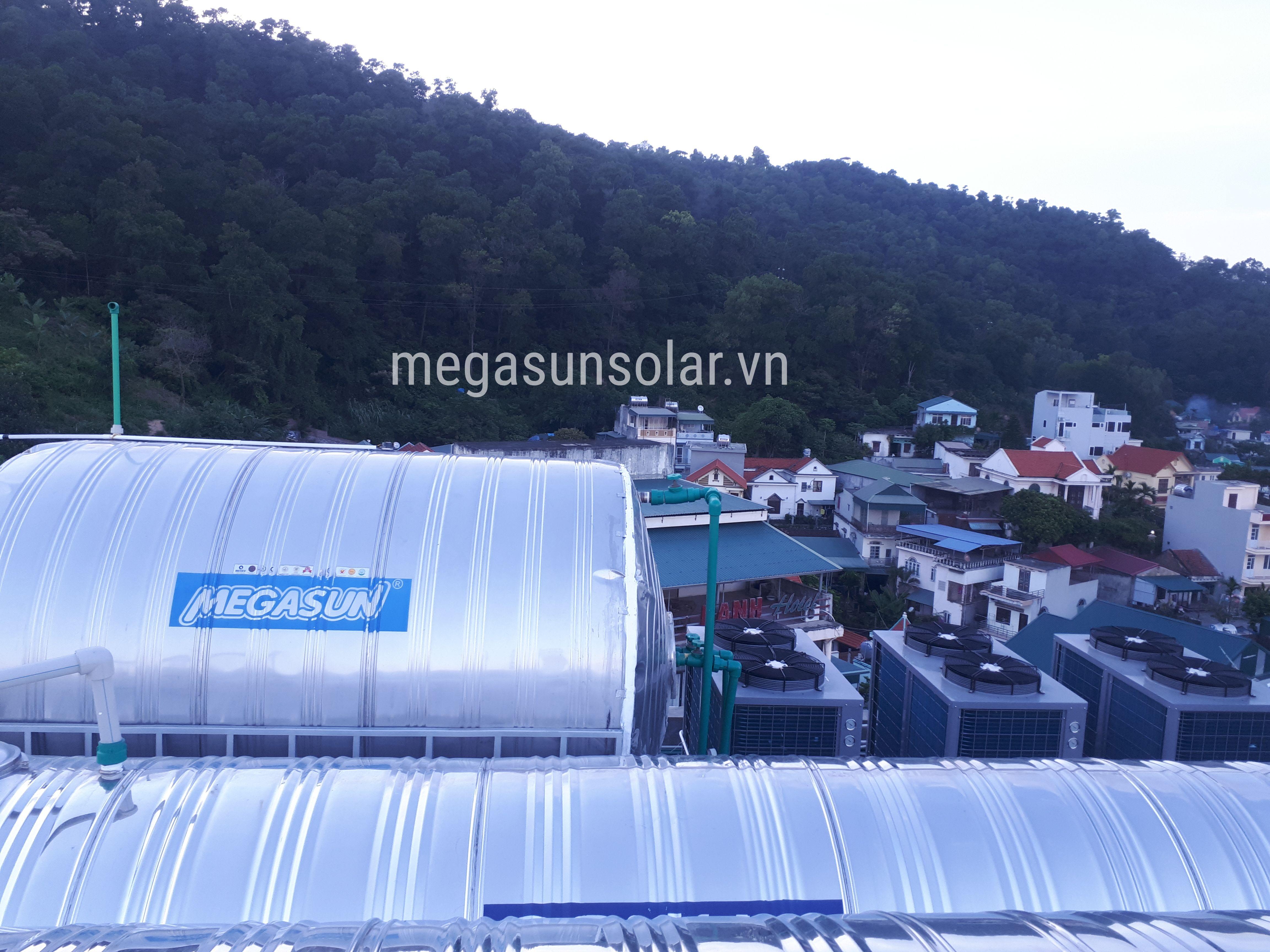 dư án bơm nhiệt công nghiệp Megasun