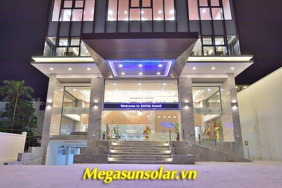 Hệ thống nước nóng trung tâm Megasun sử dụng năng lượng không khí để làm nóng nước