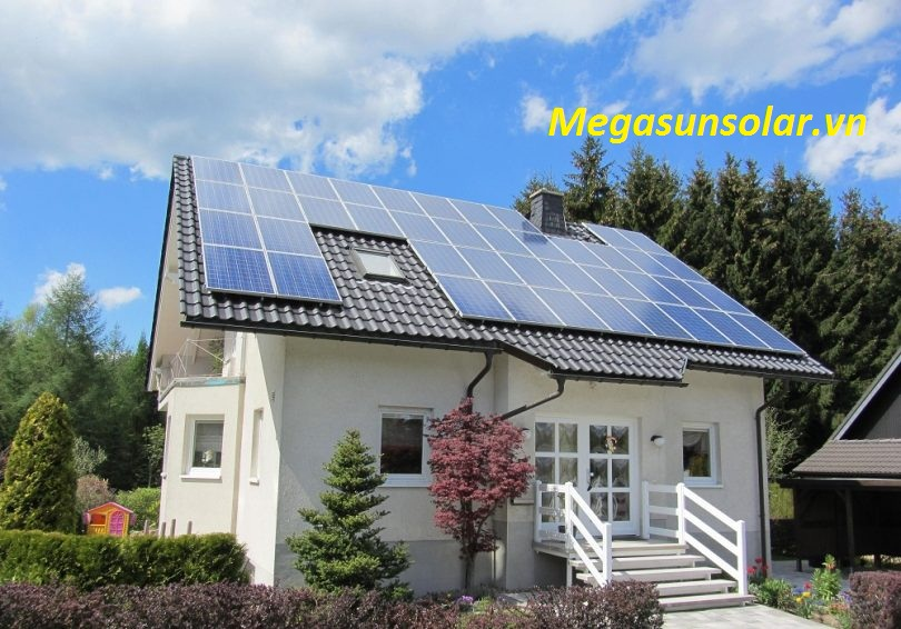 Hệ thống điện năng lượng mặt trời cho gia đình 3kwp