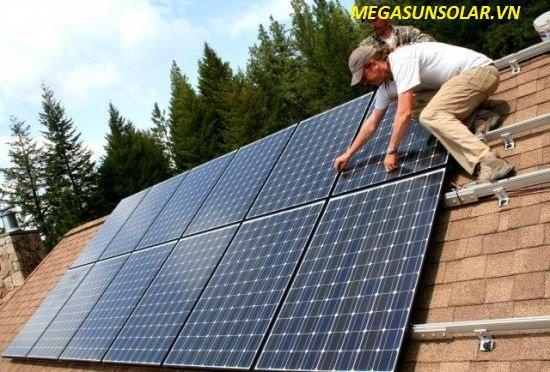 Lắp đặt điện năng lượng mặt trời Hòa Lưới Megasun