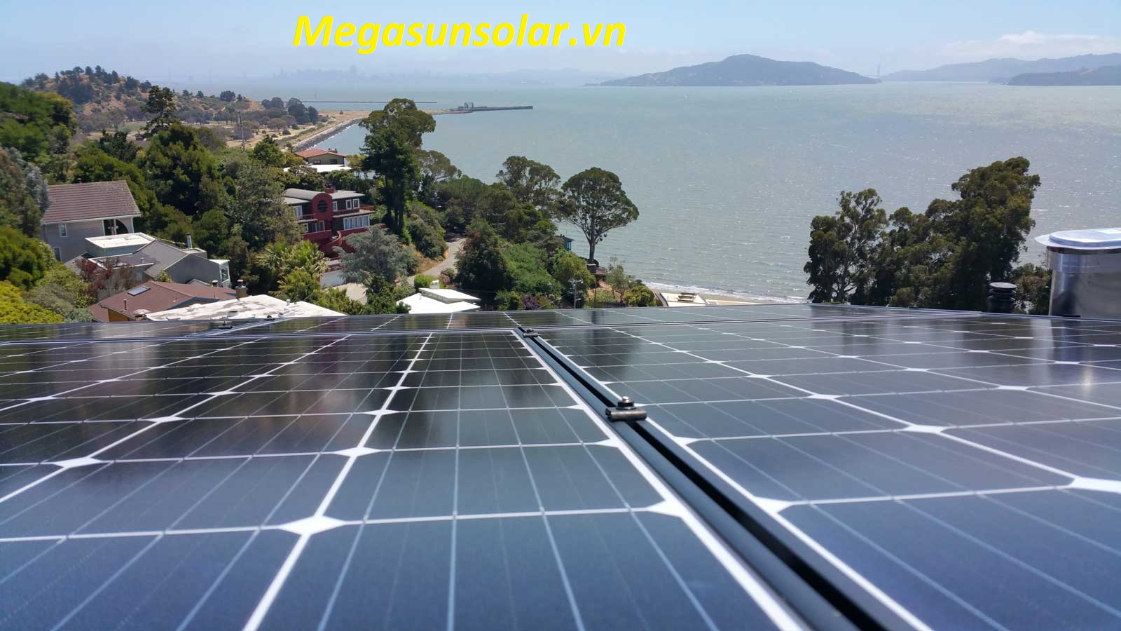 Pin điện năng lượng mặt trời hòa lưới Megasun