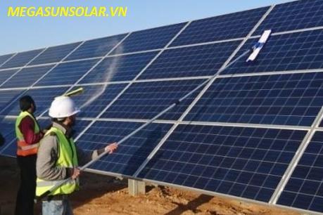 Bảo dưỡng điện năng lượng mặt trời hòa lưới