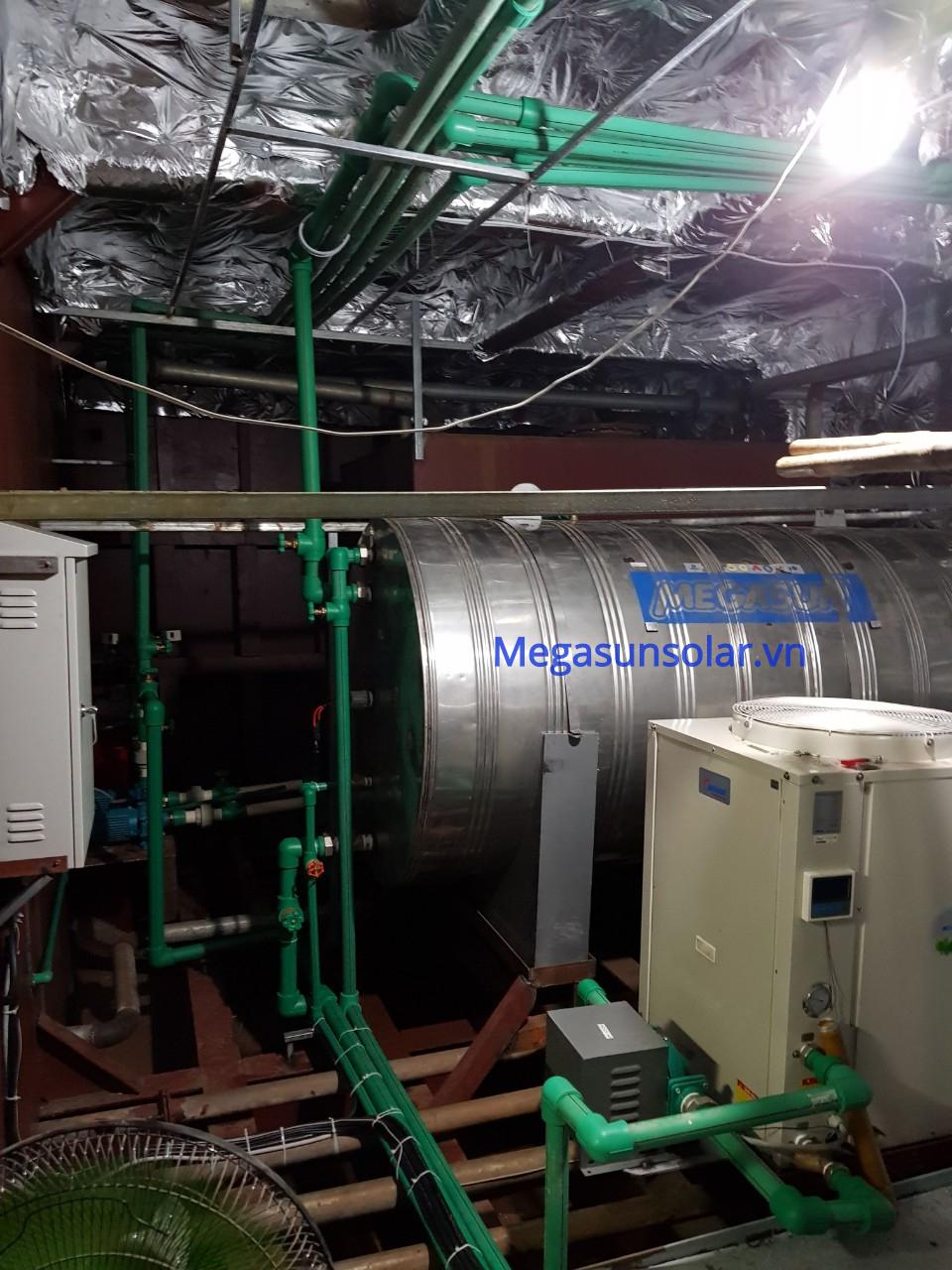 Máy bơm nhiệt công nghiệp heat pump Megasun MGS-52HP