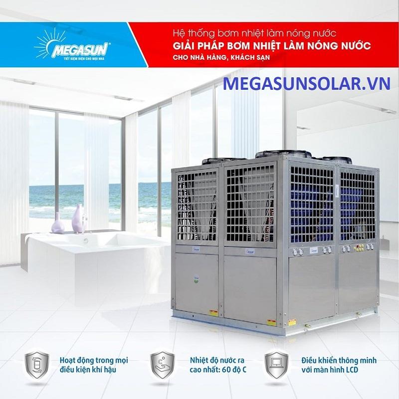 Máy bơm nhiệt công nghiệp Megasun MGS – 3HP – 1000L