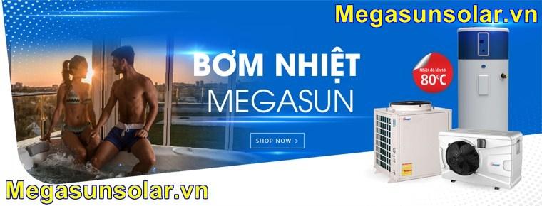 Mua máy bơm nhiệt công nghiệp Megasun MGS – 3HP – 1000L giá tốt tại Showroom của Megasun