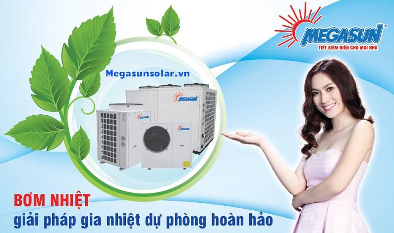 Máy nước nóng không khí Megasun MGS - 2.5HP - 1000L