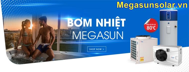 Máy bơm nhiệt nước nóng Megausn MGS - 2HP - 500L