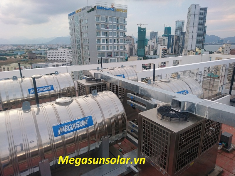 Hệ thống bơm nhiệt Megasun MGS-8HP