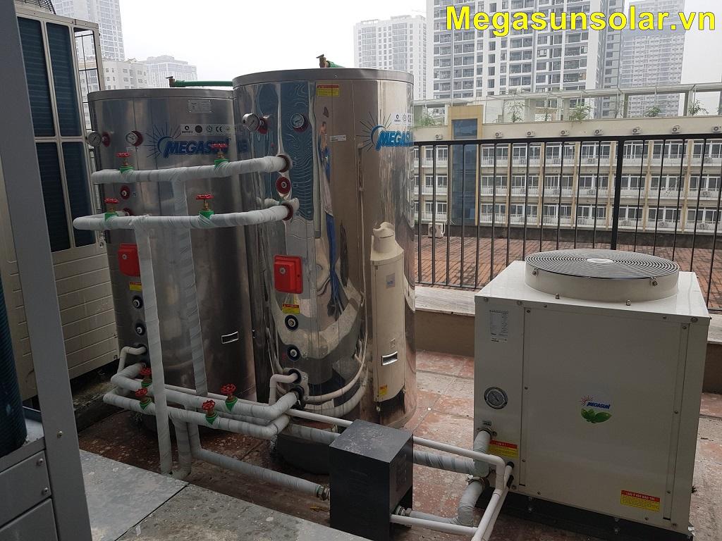 Máy bơm nhiệt cho gia đình Megasun MGS-1.5HP-200L
