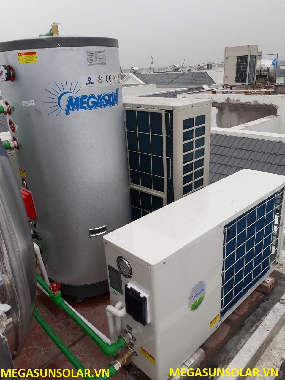 bơm nhiệt Megasun đạt chuẩn chất lượng Châu Âu