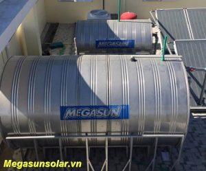 Bồn bảo ôn chứa nước nóng tấm thu năng lượng mặt trời