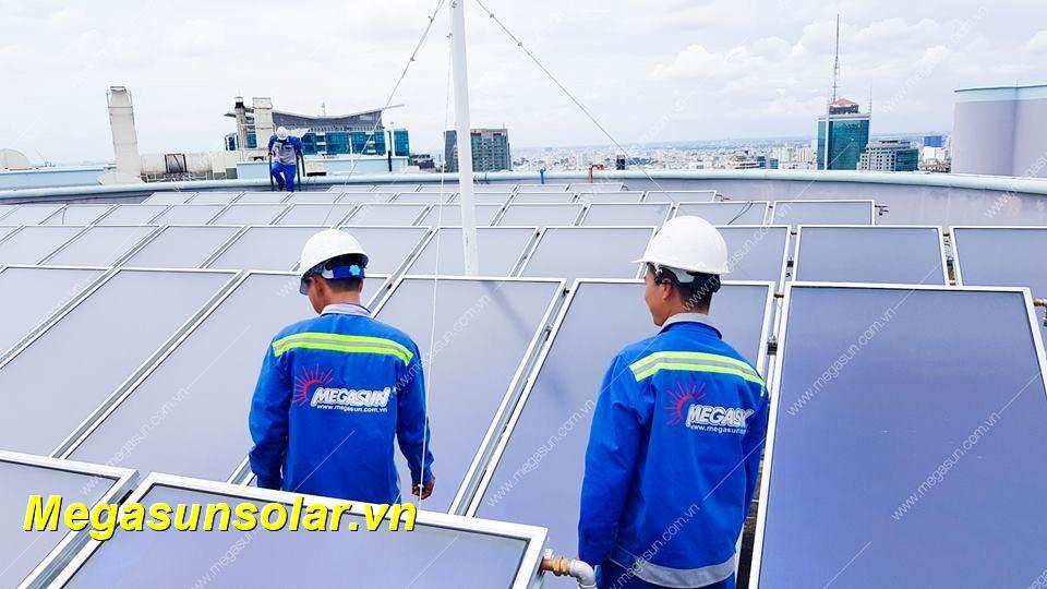 Hệ thống năng lượng mặt trời công nghiệp tấm phẳng MEGASUN CFP