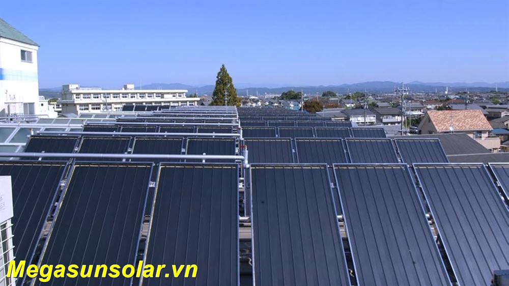 Hệ thống nước nóng năng lượng mặt trời Công nghiệp MEGASUN
