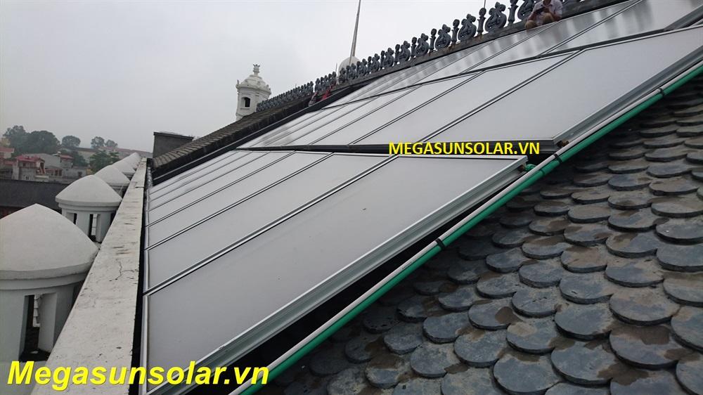 Hệ thống tấm phẳng năng lượng mặt trời chịu áp Megasun