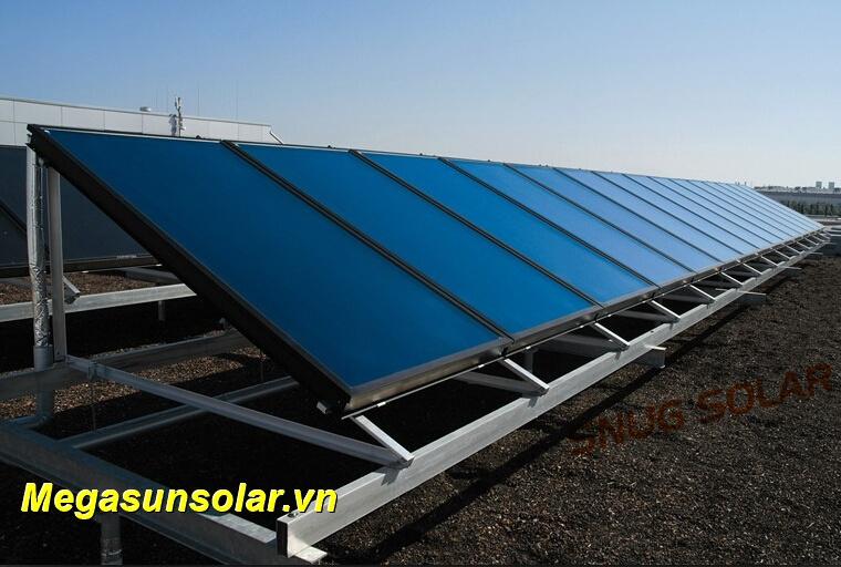 Hệ thống tấm thu năng lượng mặt trời chịu áp Megasun