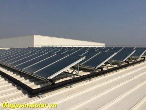 Hệ thống tấm thu nhiệt CFP năng lượng mặt trời MEGASUN