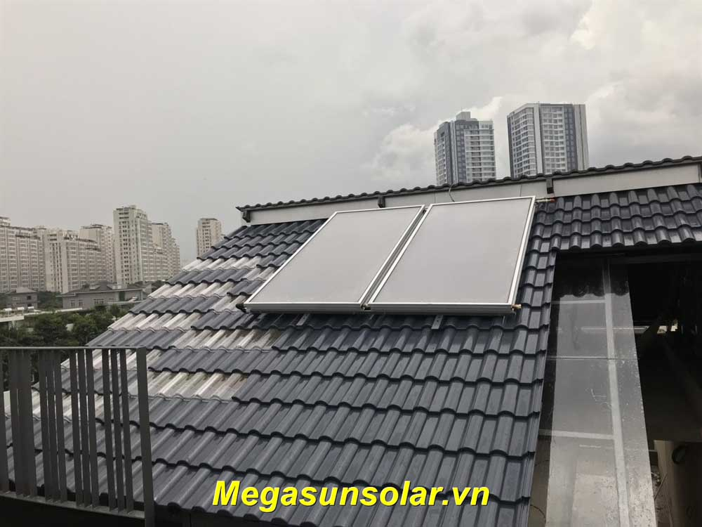 Máy nước nóng năng lượng mặt trời tấm phẳng MGS-400CA-TR