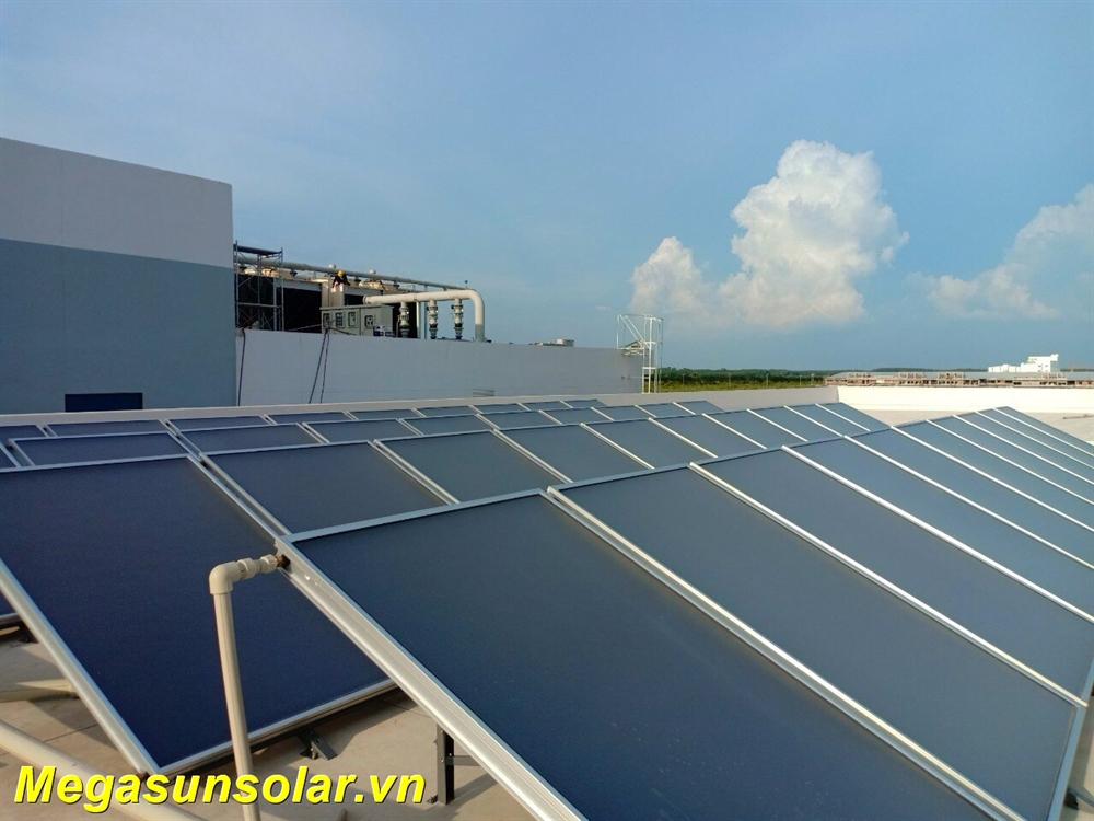 Máy nước nóng tấm phẳng năng lượng mặt trời MEGASUN MGS-FSC2.0