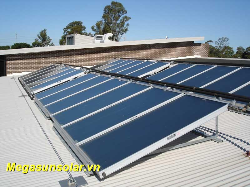 Nước nóng năng lượng mặt trời công nghiệp Megasun chịu áp