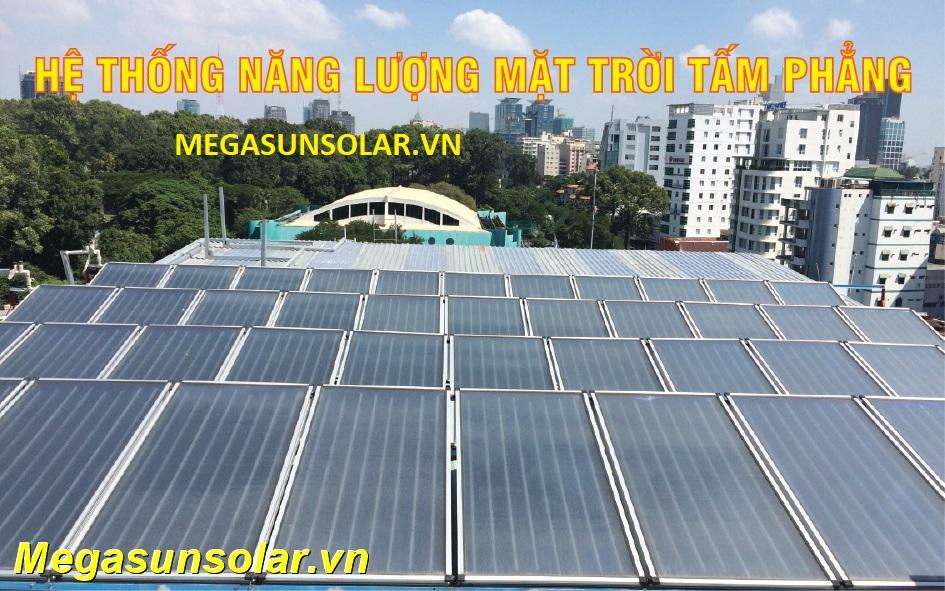 Nước nóng năng lượng mặt trời công nghiệp Megasun
