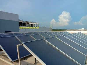 Máy nước nóng năng lượng mặt trời công nghiệp tấm phẳng Megasun