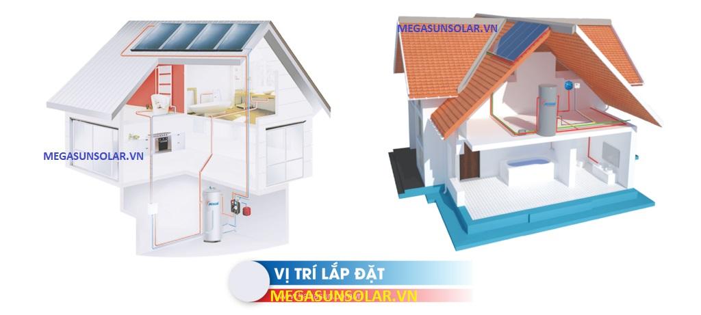 Ứng dụng máy nước nóng tấm phẳng Megasun
