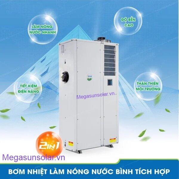 Bơm nhiệt heat pump - Công suất lớn, thời gian làm nóng nhanh, tiết kiệm năng lượng