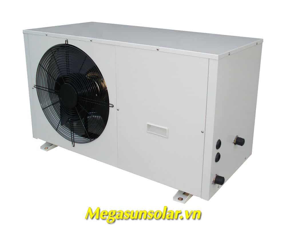 Hệ thống nước nóng trung tâm bơm nhiệt bình tách rời
