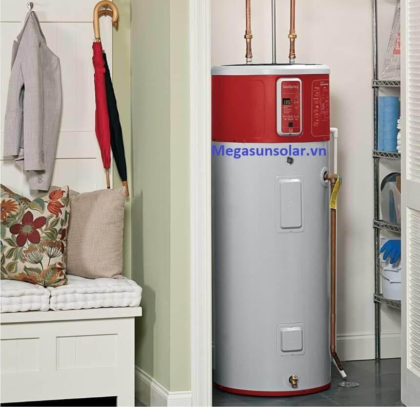 Bơm nhiệt heat pump bình tích hợp kiểu dáng thanh lịch