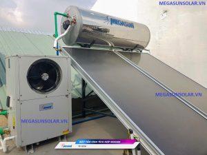 Bơm nhiệt Heat Pump kết hợp máy nước nóng năng lượng mặt trời Megasun