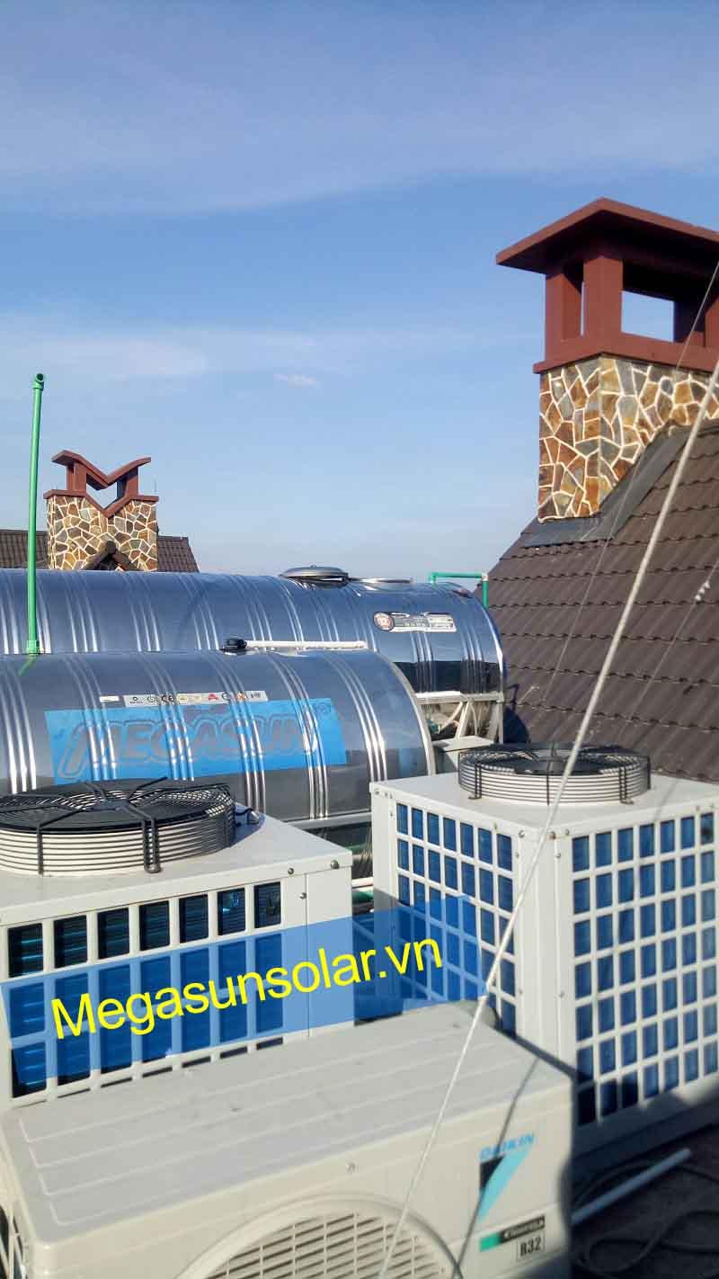 Bơm nhiệt Megasun đạt tiêu chuẩn Chất lượng Châu Âu