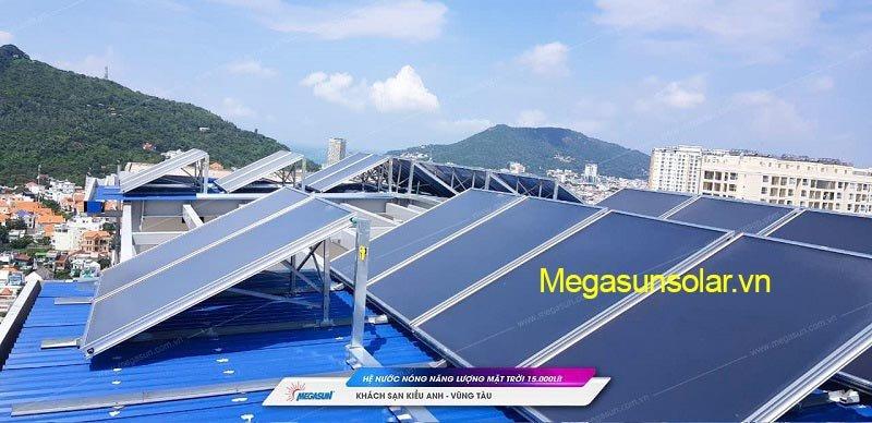 Dự án tấm phẳng thu nhiệt năng lượng mặt trời