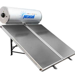 Máy nước nóng tấm phẳng Megasun - Bình tích hợp chịu áp - Dòng CA