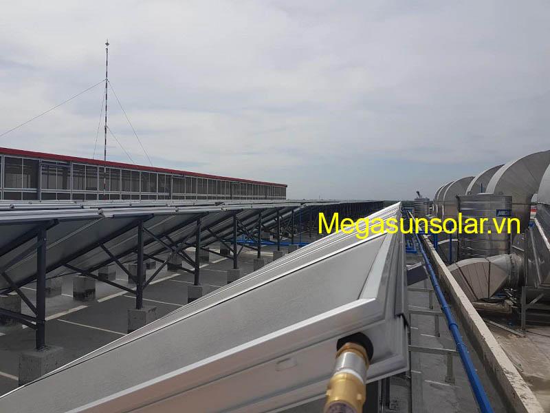 Sản phẩm tấm phẳng thu nhiệt Megasun đạt chất lượng Châu Âu