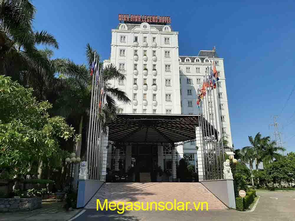 Dự án bơm nhiệt Megasun tại Ninh Bình Legend Hotel
