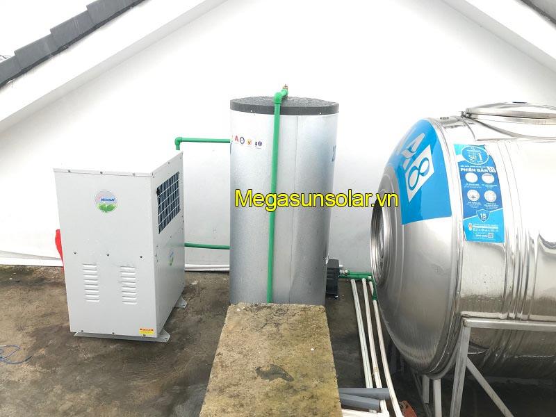 Hệ thống bơm nhiệt dân dụng Megasun và thiết bị lọc gió