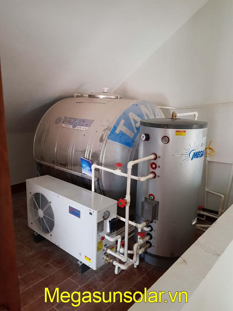 Hệ thống bơm nhiệt dân dụng bình tách rời MEGASUN