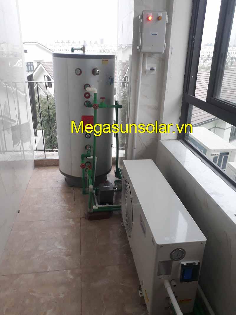 Hệ thống nước nóng trung tâm bơm nhiệt Megasun tiết kiệm 80% điện năng