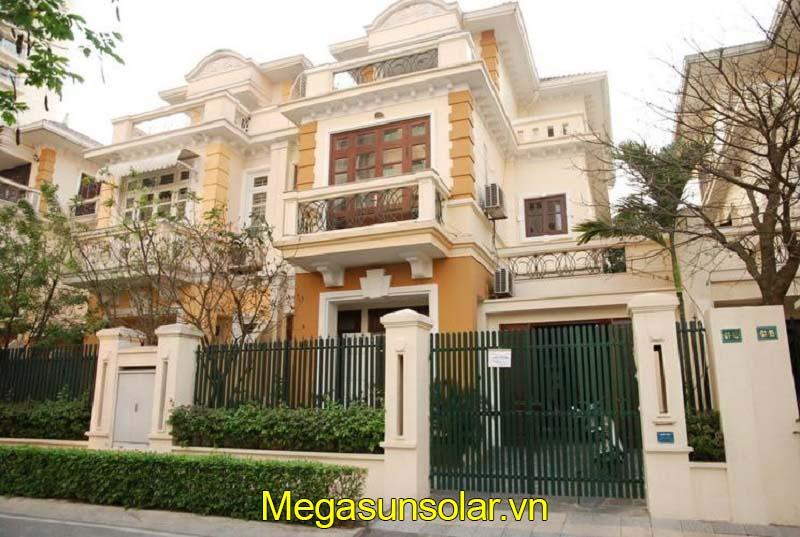 Dự án bơm nhiệt bình tích hợp Megasun tại Biệt thự Hà Nội