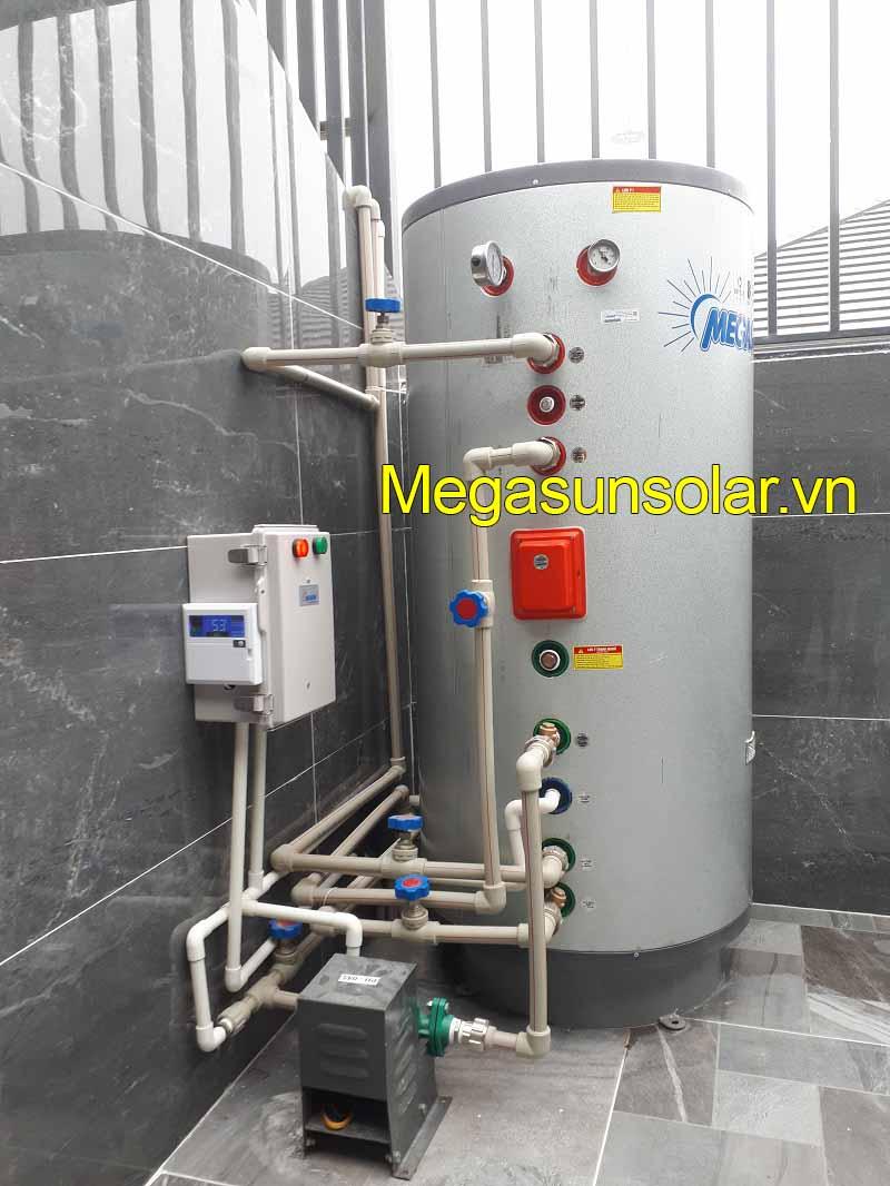 Bơm nhiệt dân dụng MEGASUN bình tích hợp