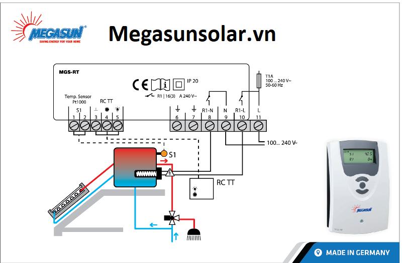 Bộ điều khiển điện trở - Bơm hồi MGS-RT Megasun
